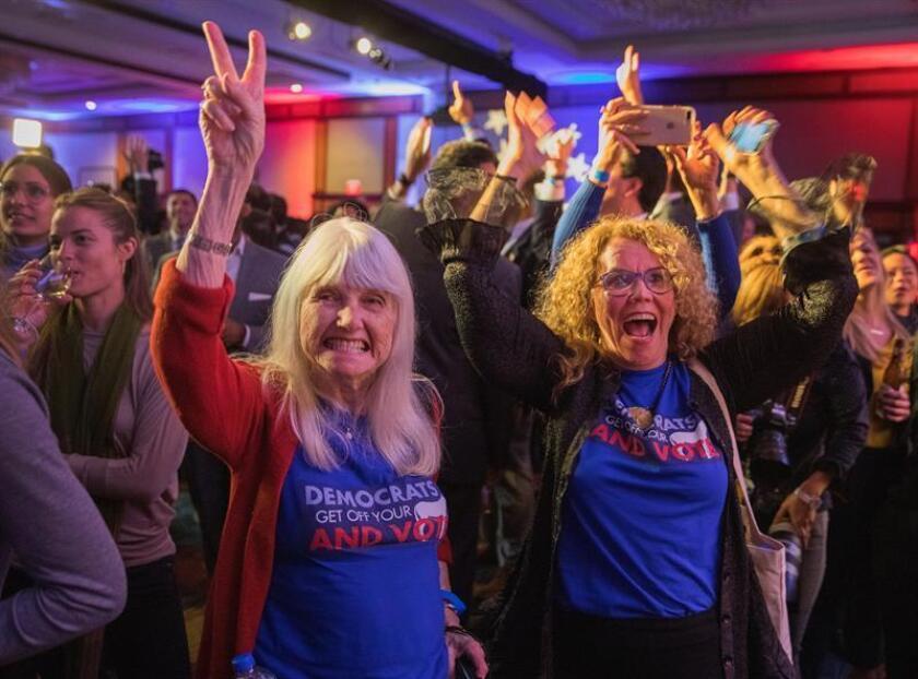 ONU Mujeres celebró hoy el éxito obtenido por candidatas de ambos partidos en las elecciones celebradas este martes en Estados Unidos, que depararon un Congreso con más mujeres que nunca. EFE/ARCHIVO