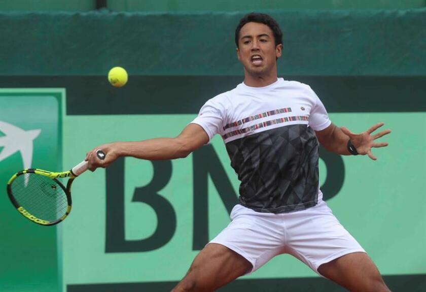 El tenista boliviano Hugo Dellien. EFE/Archivo