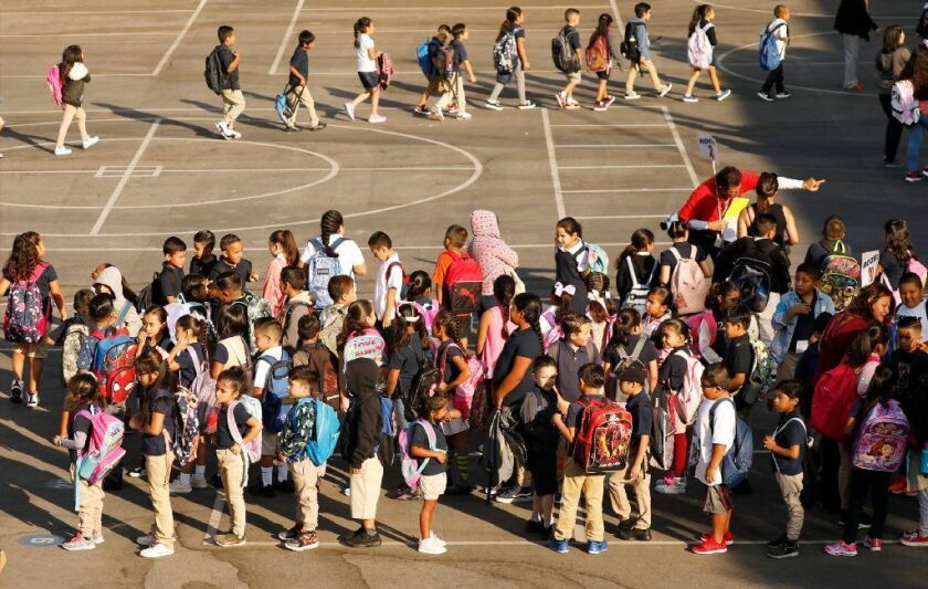 Dolores Huerta Elementary School in Los Angeles