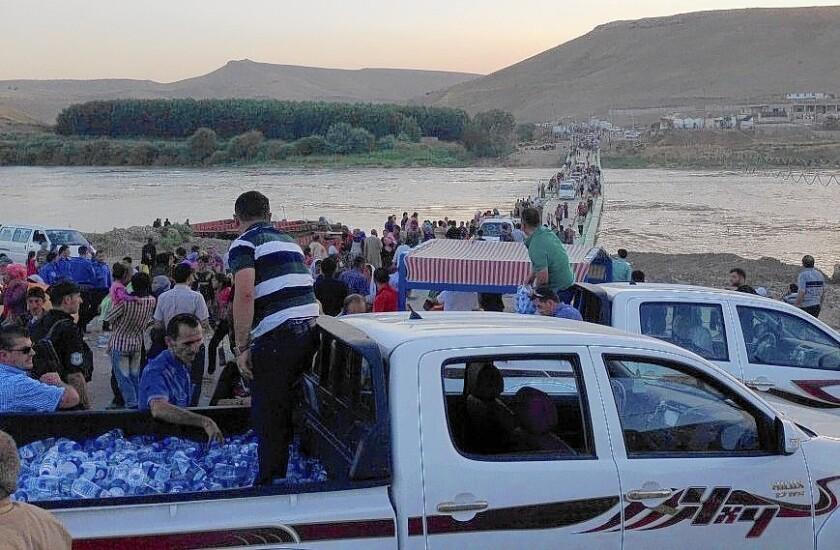 Yazidis return to Iraq