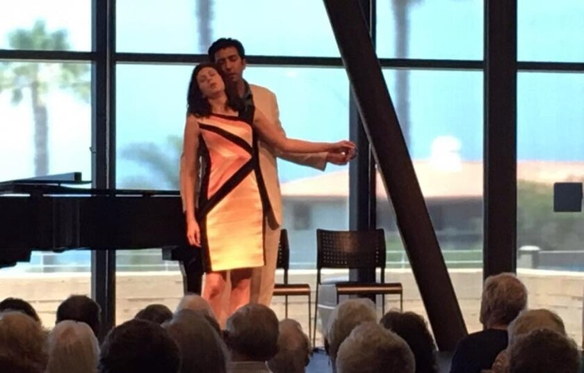 """Opera Neo holds a preview performance of """"Don Giovanni."""" The company's production will set the story in and around the halls of power in Washington."""