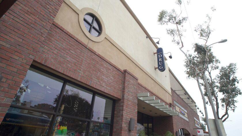 The Laguna Drug building in downtown Laguna Beach. CVS has an application into the city to move into