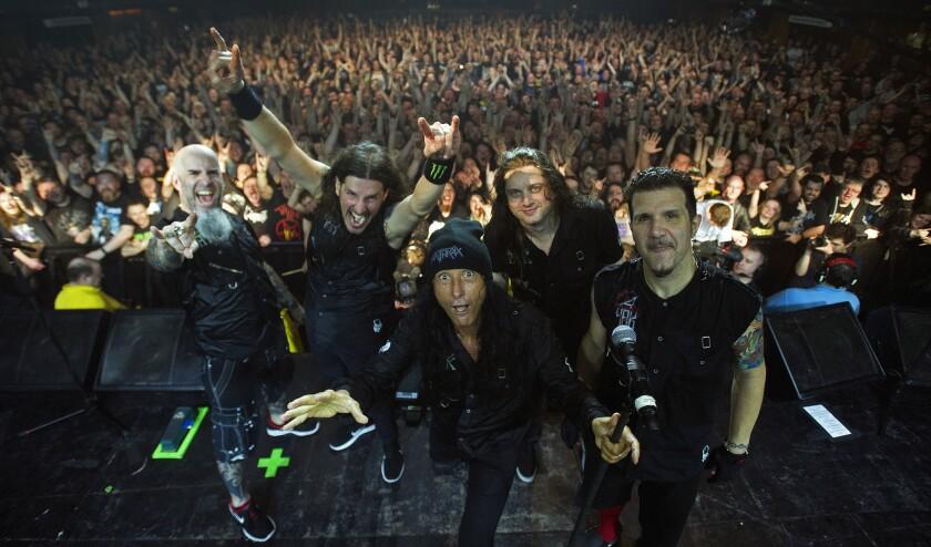 Anthrax Glasgow 15feb17