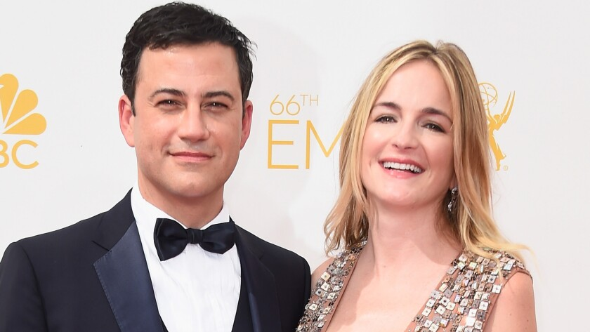 Jimmy Kimmel took the subway to the Emmys