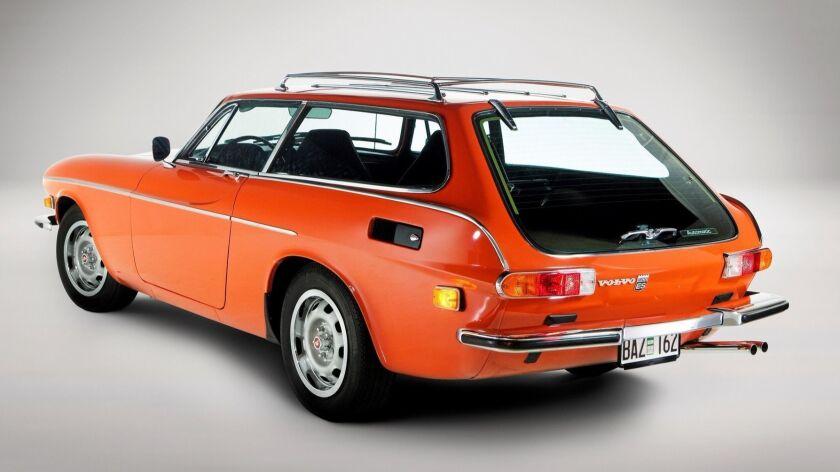 1973年橙色1800 ES经典车