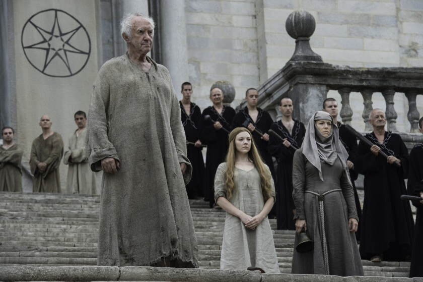 Game Of Thrones Recap It S Jaime Vs High Sparrow Who Triumphs Los Angeles Times