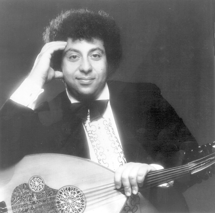 "John Bilezikjian's expressive playing of the 11-string oud can be heard in more than 82 film and television soundtracks, including ""Schindler's List"" and ""The French Connection."""