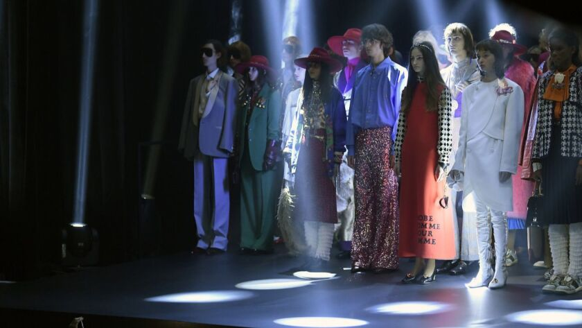 Paris Fashion Week: Gucci continues to show it's a cool enclave for the eccentric outsider