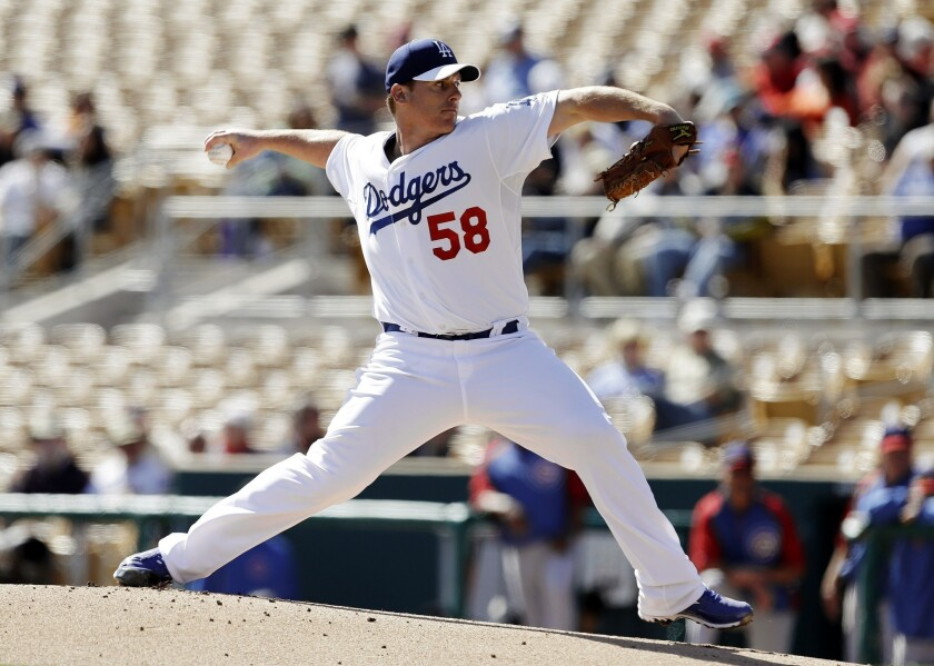 Chad Billingsley was scratched from a scheduled start Tuesday due to a bruised finger but expects to pitch on Saturday.