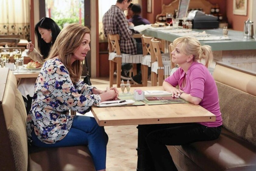 """Anna Faris, right, and Allison Janney star in """"Mom."""""""