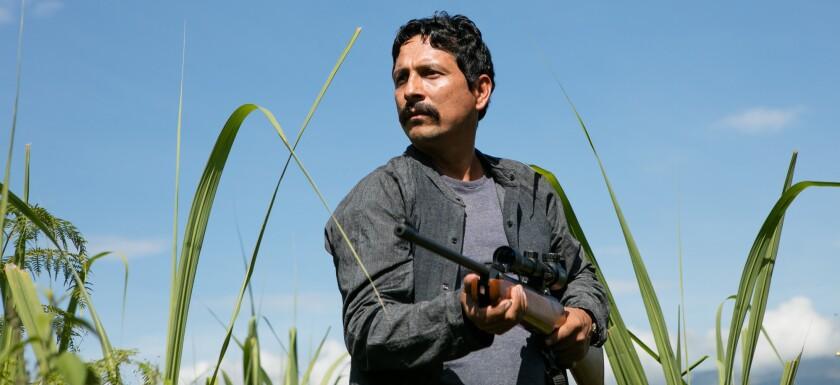 """Willington Gordillo es el protagonista de """"Pariente"""" (""""Guilty Men""""), una película colombiana con actores no profesionales que se exhibe desde hoy en una sala del Sur de California."""