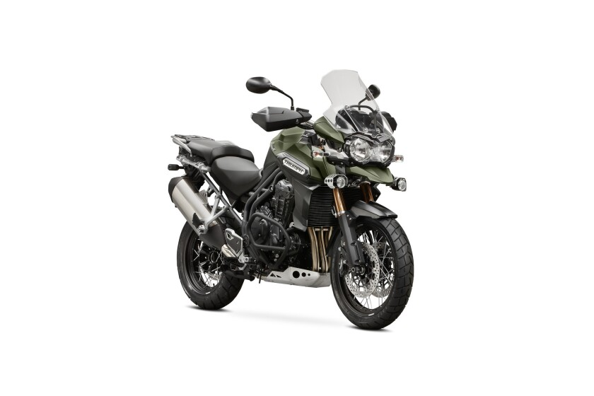 Triumph's adventure bike is an able and exciting road warrior.
