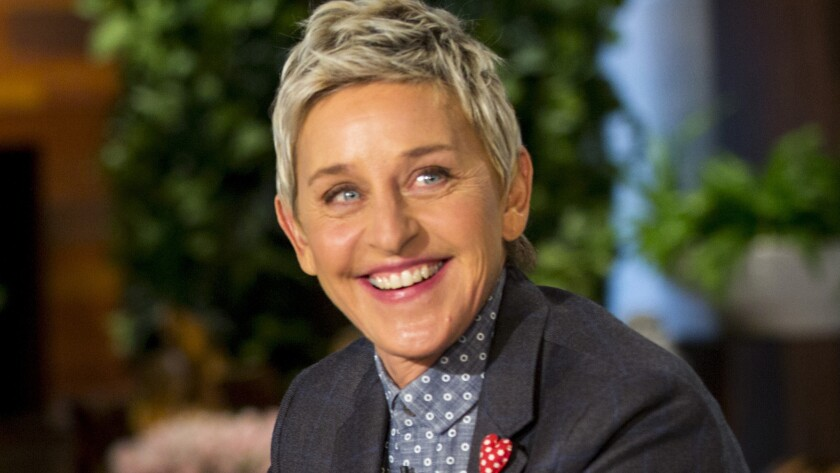 What does Ellen DeGeneres do when she's bored while social distancing? She calls her famous friends.