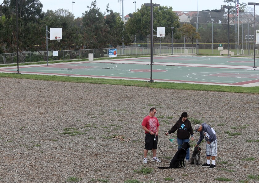 Hundreds of residents signed a petition in 2014 to build an off-leash dog park at Carlsbad's Poinsettia Community Park.