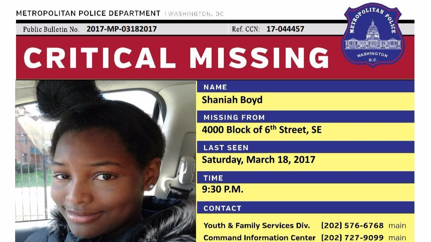 Missing D.C. girls spark outcry on social media, for better and worse