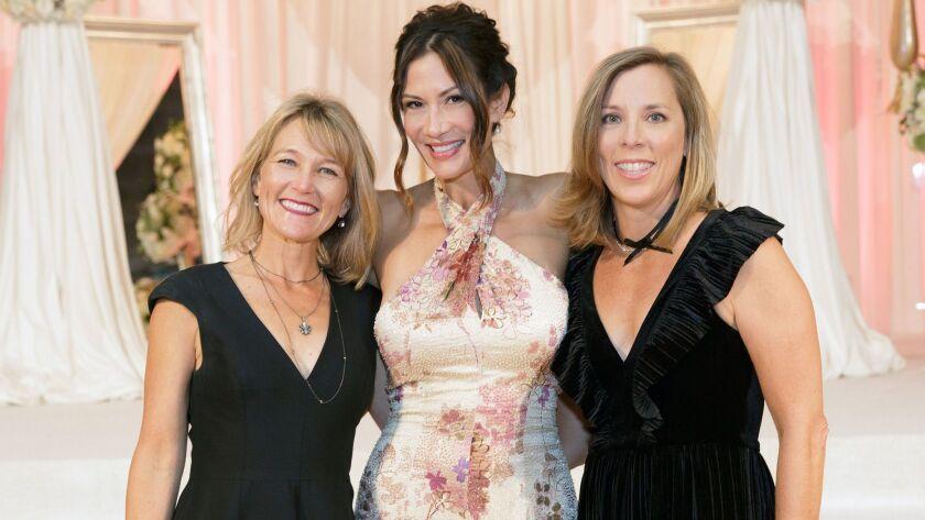Portia Fischer (past), Malia Grippo (Current) and Jennifer Lefebvres (past). (Courtesy of Gillmore