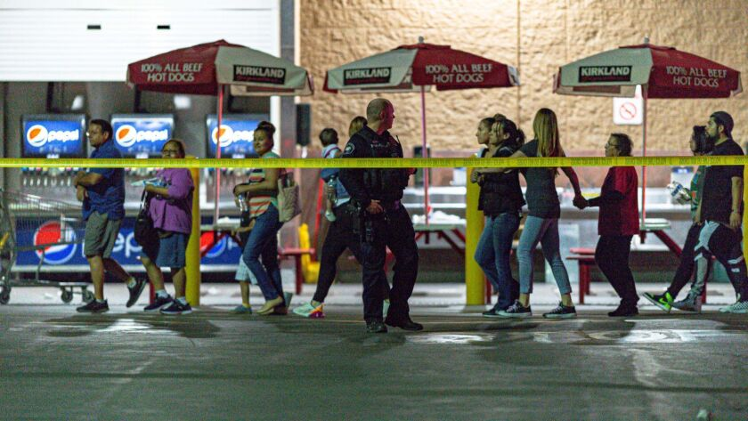 Shoppers at a Costco in Corona struggle with deadly shooting in a