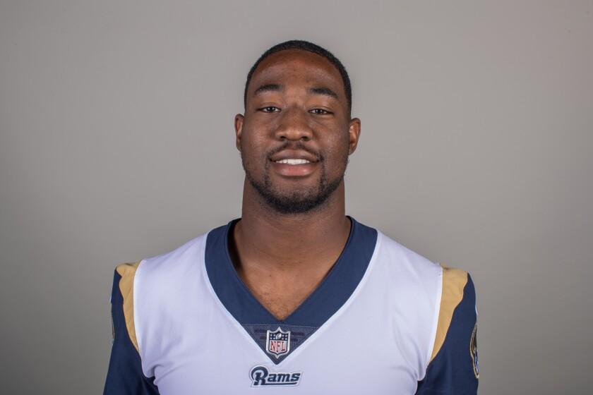 Rams linebacker Ogbonnia Okoronkwo.
