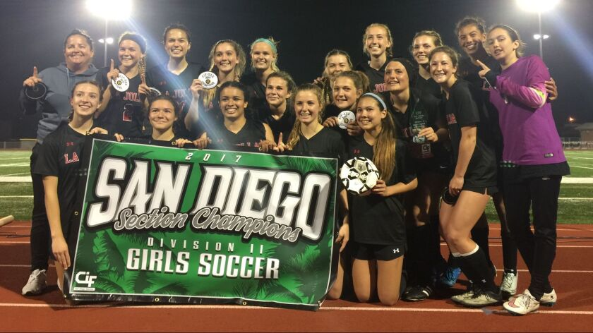 La Jolla High School's girls soccer team wins its first CIF title since 2011.