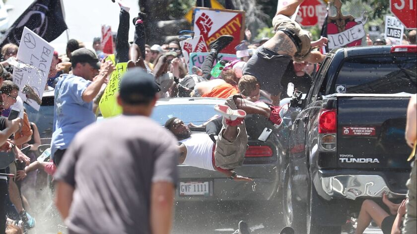 Ryan Kelly's Pulitzer Prize-winning image from the 2017 Charlottesville, Va., protests.