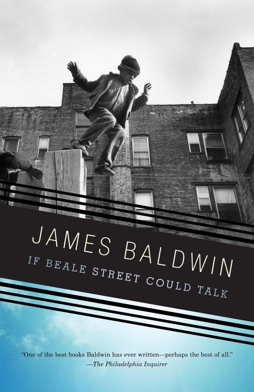 "James Baldwin's novel ""If Beale Street Could Talk."""