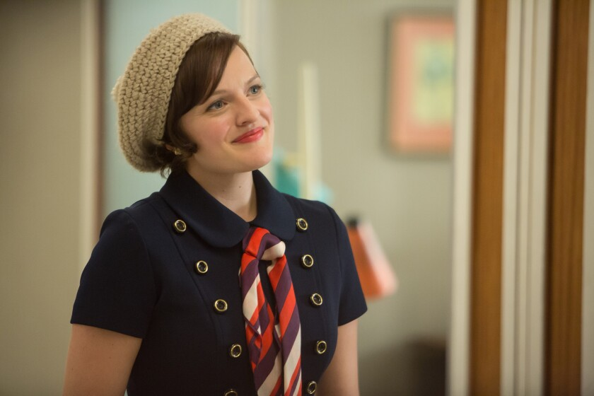 """Elisabeth Moss as Peggy Olson in """"Mad Men."""""""