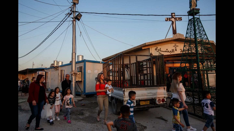 Iraqi Christians celebrate Holy Week