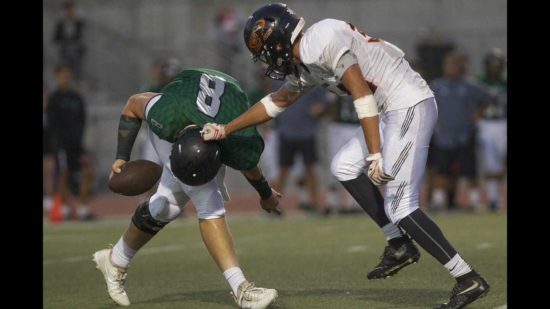 Photo Gallery:  Los Amigos High football vs. Fairmont Prep