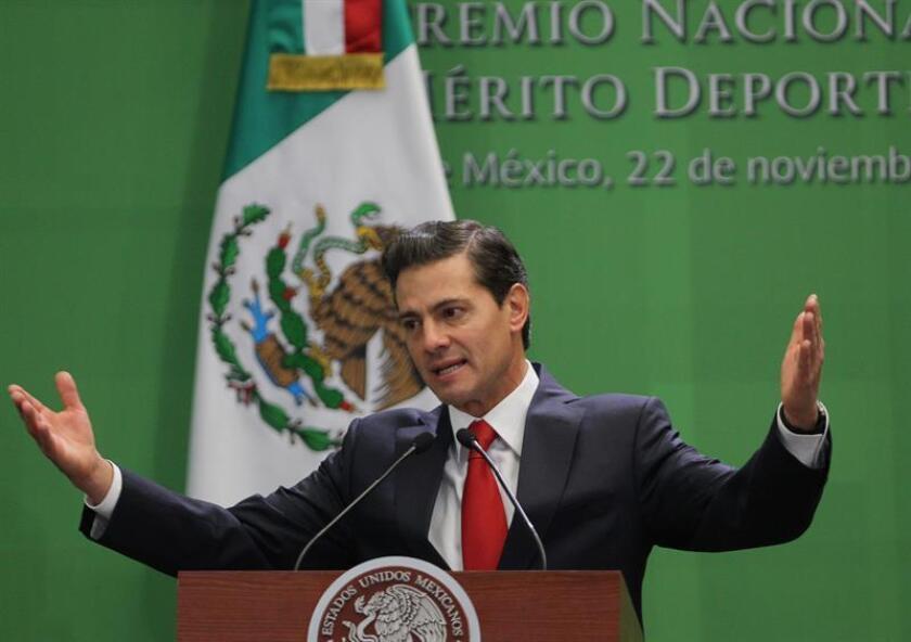 Fotografía de archivo del expresidente de méxico Enrique Peña Nieto. EFE/Archivo