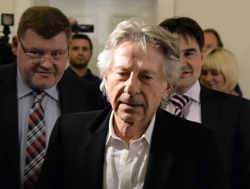 Director Roman Polanski in October after his trial at the regional court in Krakow, Poland.