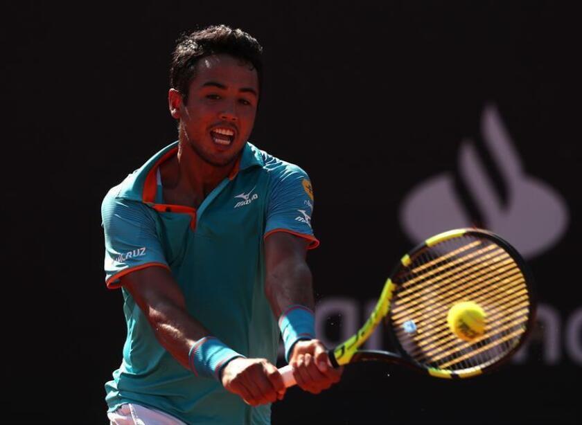 Hugo Dellien, tenista boliviano. EFE/Archivo