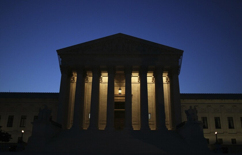 Lair of the Big Nine in D.C.: Are the justices being taken for a ride by an anti-Obamacare lawsuit?