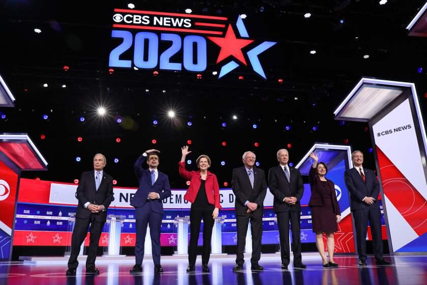 TOPSHOT-US-VOTE-2020-DEMOCRATS-DEBATE-POLITICS-ELECTION