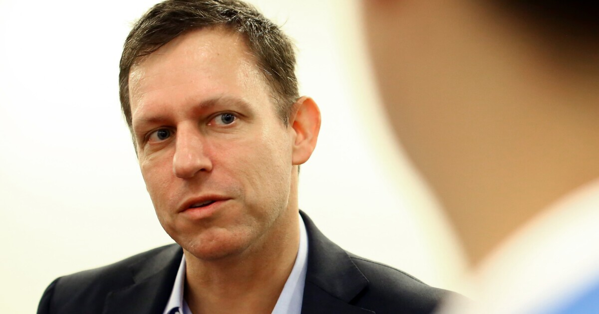 Peter Thiel's venture capital firm is sued by its former top lawyer