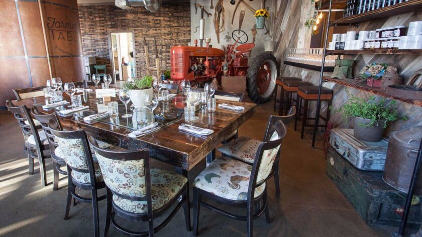 Farmer's Table is La Mesa's newest food-to-fork destination.