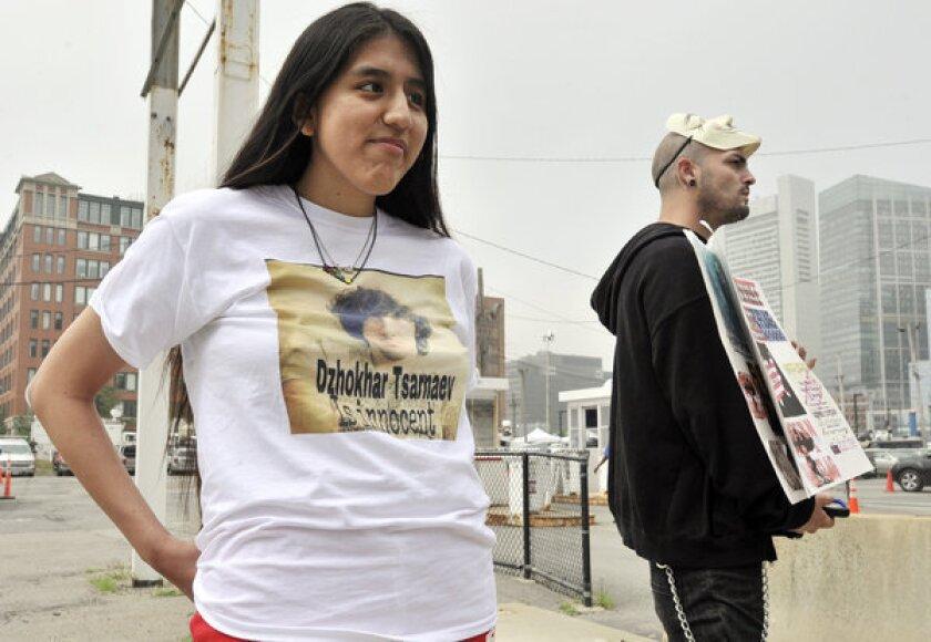 Dzhokhar Tsarnaev supporters