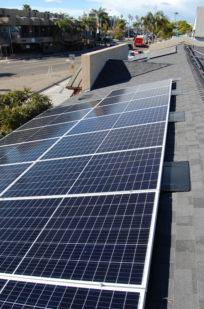 The La Jolla Community Center has completed a two-year project to install a new roof and solar panels.