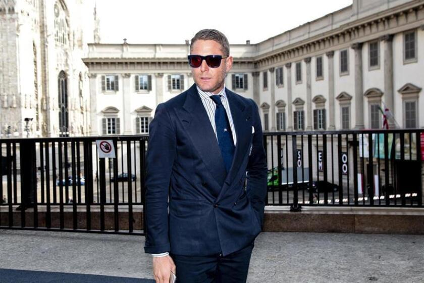 El empresario italiano Lapo Elkann asiste a la inauguración de la Semana de la Moda en Milán. EFE/Archivo