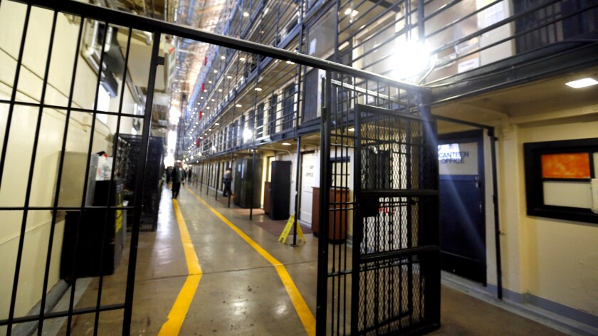 Inside San Quentin's East Block