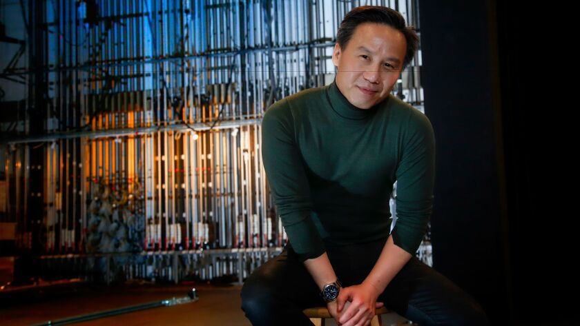 "BD Wong at San Diego State University, where he is workshopping the movie-based musical project ""Mr. Holland's Opus"" with composer Wayne Barker."