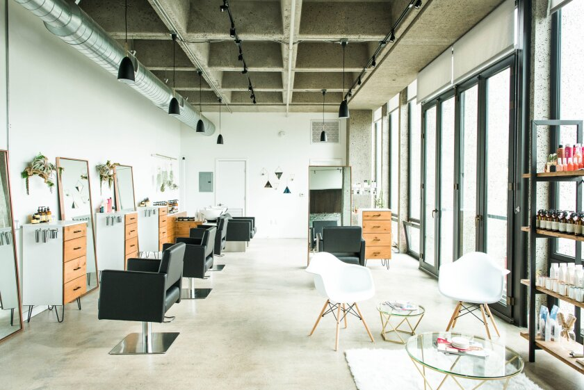 Green + Anchor is a holistic salon in Bankers Hill.