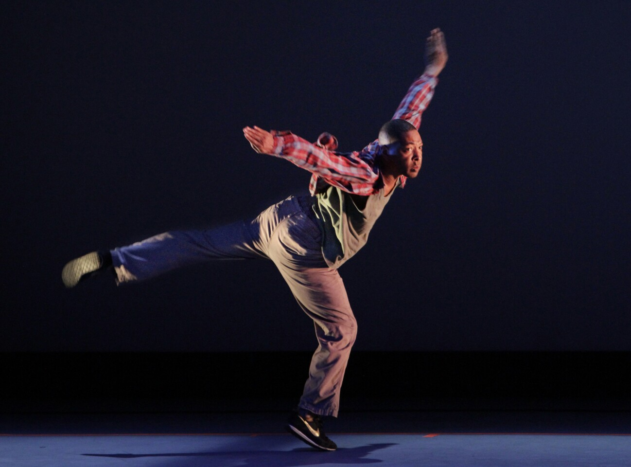 """""""Pavement"""" choreographer Kyle Abraham also dances in the meditation on """"Boyz N the Hood"""" and street life in L.A.'s Crenshaw district."""