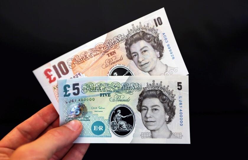 Britain plastic money