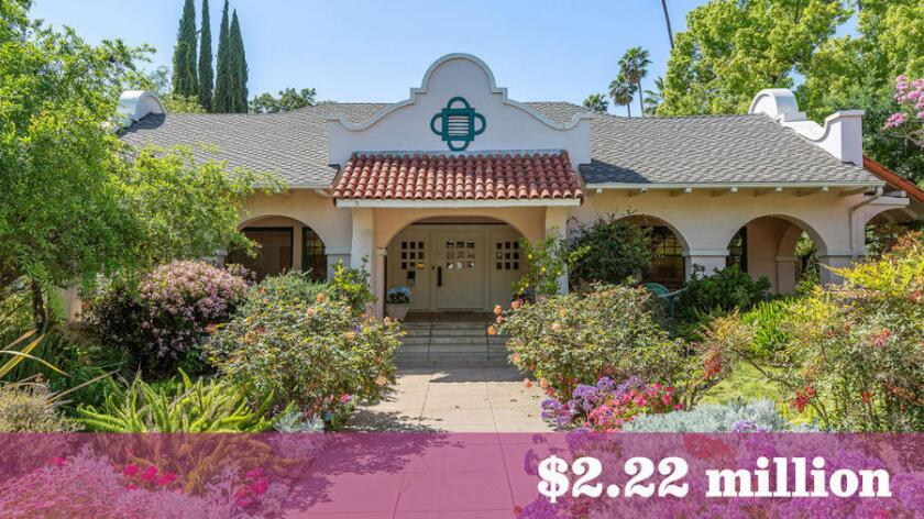 The Glendale home, once owned by Zorro creator Johnston McCulley and later used by Mack Sennett as a filming location, is listed for sale at $2.22 million.