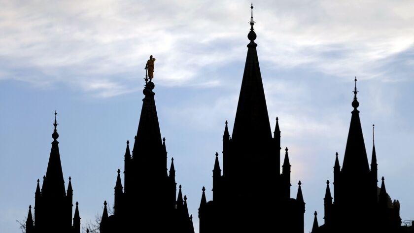 The Salt Lake Temple of the Church of Jesus Christ of Latter-day Saints in Salt Lake City.
