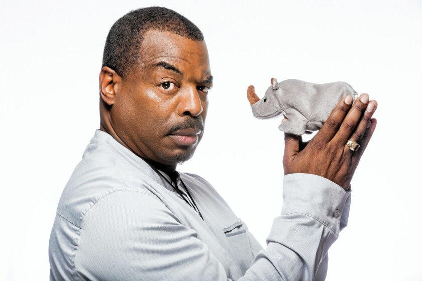 """LeVar Burton, actor and host of """"Reading Rainbow,"""" in Burbank on March 26, 2015."""