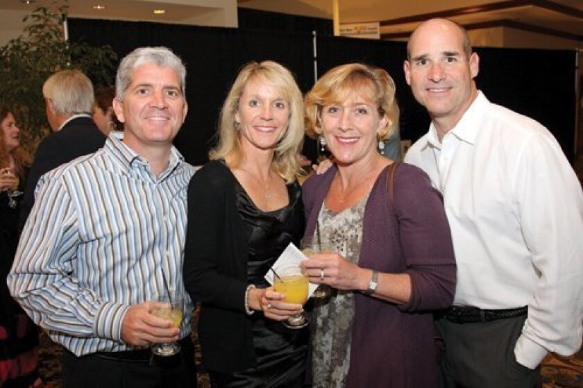 Jim and Gina Correll, Susie and Dan Bright