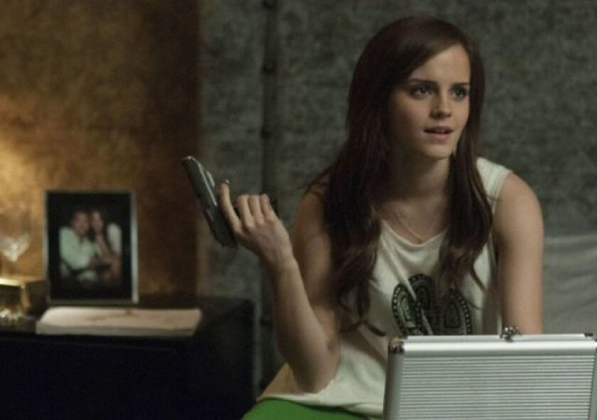 "Emma Watson stars as Alexis Neiers in ""The Bling Ring,"" which debuted in five theaters this weekend and did well in limited release."