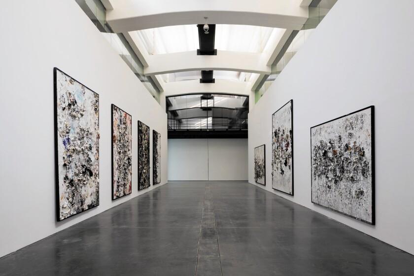 Michael Chow art exhibit