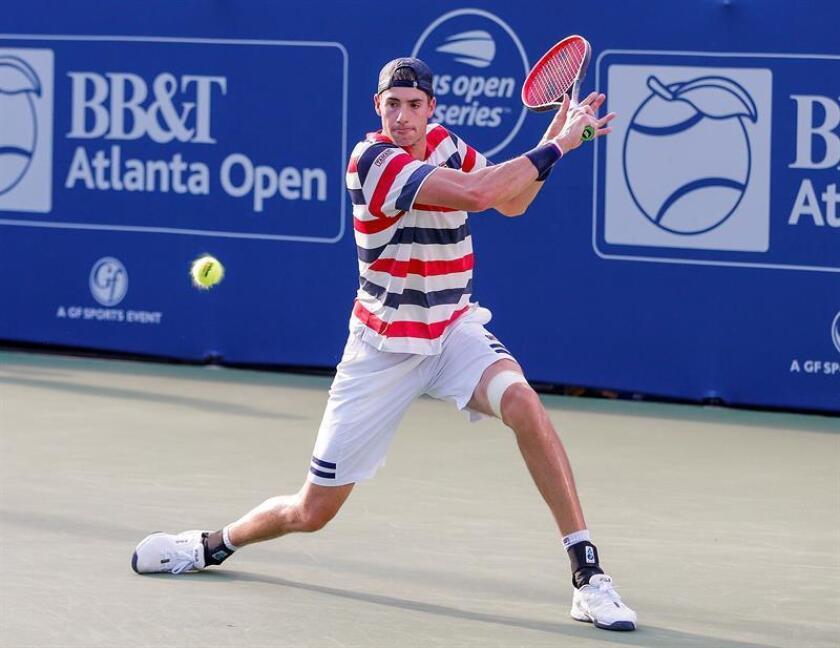 El tenista estadounidense John Isner. EFE/Archivo